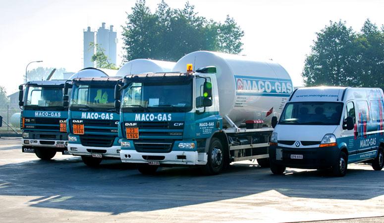 Maco-Gas specialist in brandstof