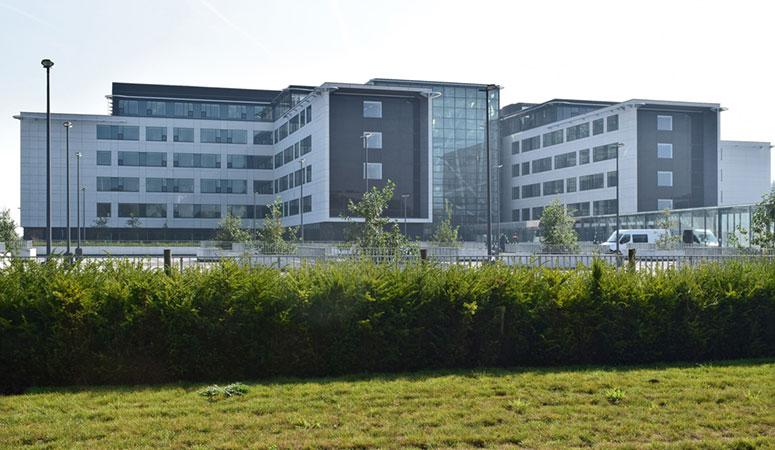 Nieuw ziekenhuis Eeklo - ontwerp AZ Alma