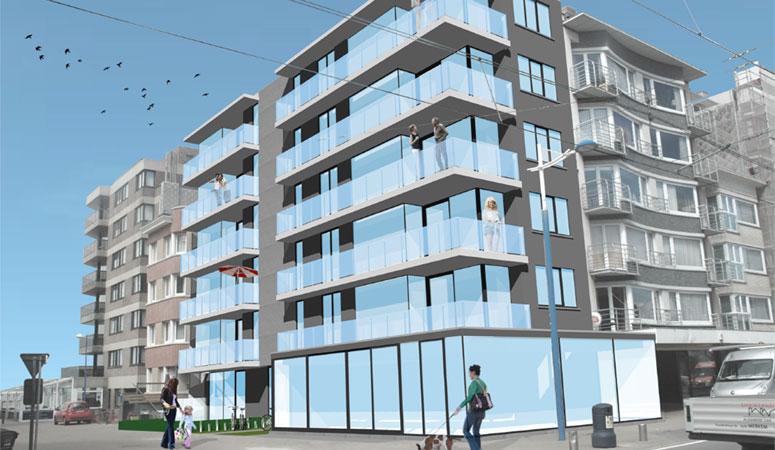 Panden aan Belgische kust zijn duurzame investering