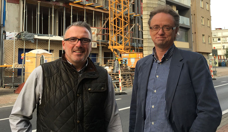 Philip Pattyn en Geert Dierckx van Immo Padiva
