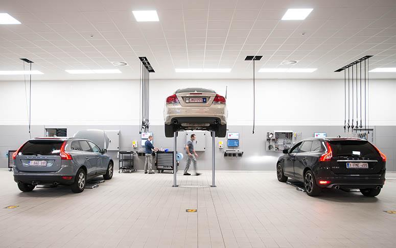 Garage van de toekomst gaat voor het milieu n de klant for Garage volkswagen lyon 7