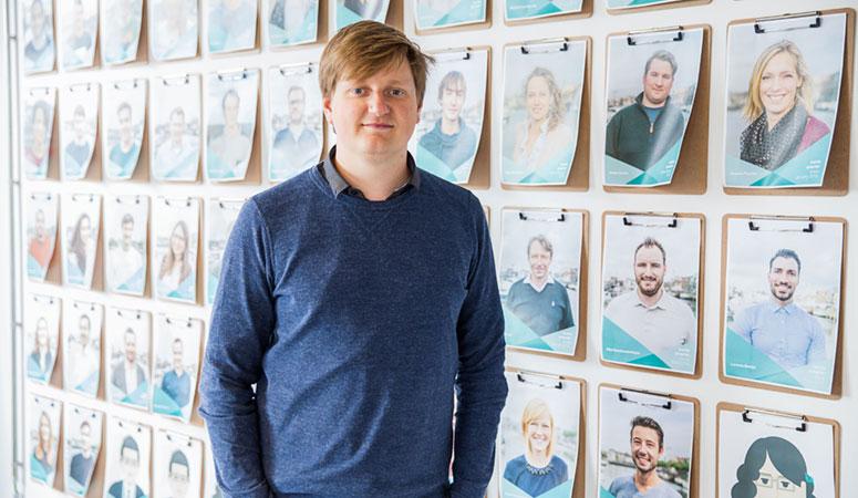 Jeroen de Wit van Teamleader België