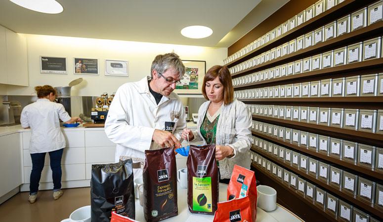 Koffie branden The JAVA Coffee Company