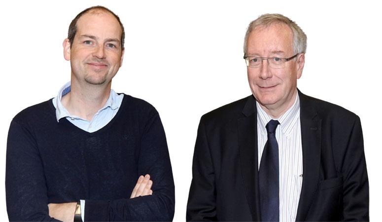 Stijn Devaere en Guy Verrue