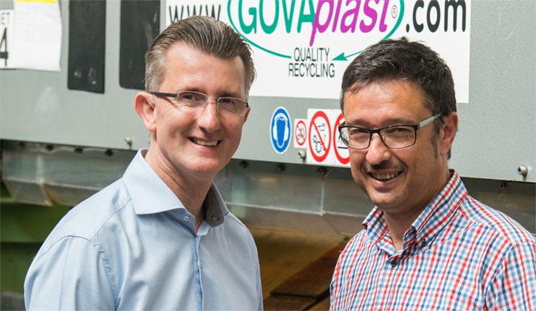 Eddy Govaerts en Patrick Gielis