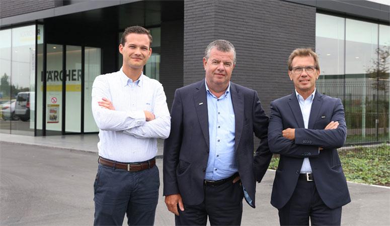 Frederick Van Raemdonck, Ludo Van Mol en Patrick Vlaminck