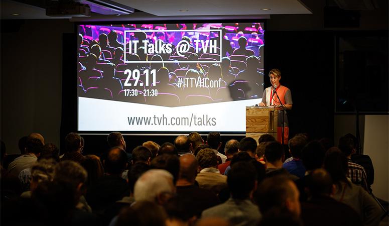 Succesvolle eerste editie IT Talks kopiëren
