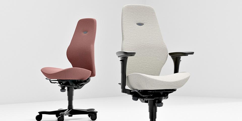 Bureaustoel Zelf Bekleden.Bijna Twee Miljoen Exemplaren Van Kinnarps Plus Bureaustoel Verkocht